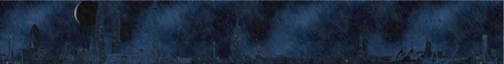 Mild Rain at Night
