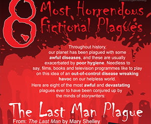 8 Most Horrendous Fictional Plagues