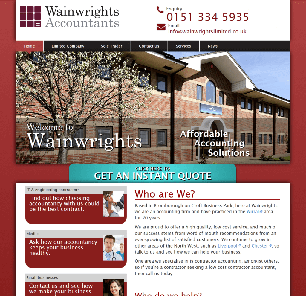 waiwrights-website