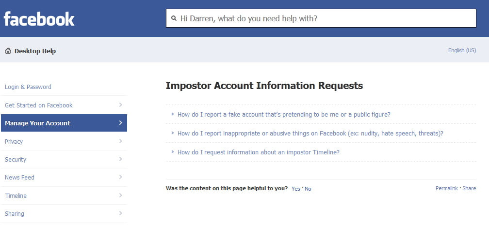 How to trace a fake Facebook account Engage Web