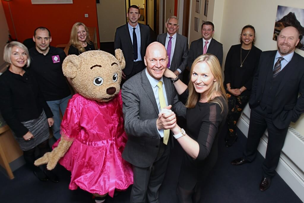 Claire House pairs up with Chester fundraisers for Strictly