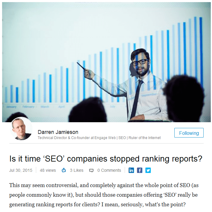 Is_it_time_'SEO'_companies_stopped_ranking_reports_Darren_Jamieson_LinkedIn_-_2016-02-04_11.13.38