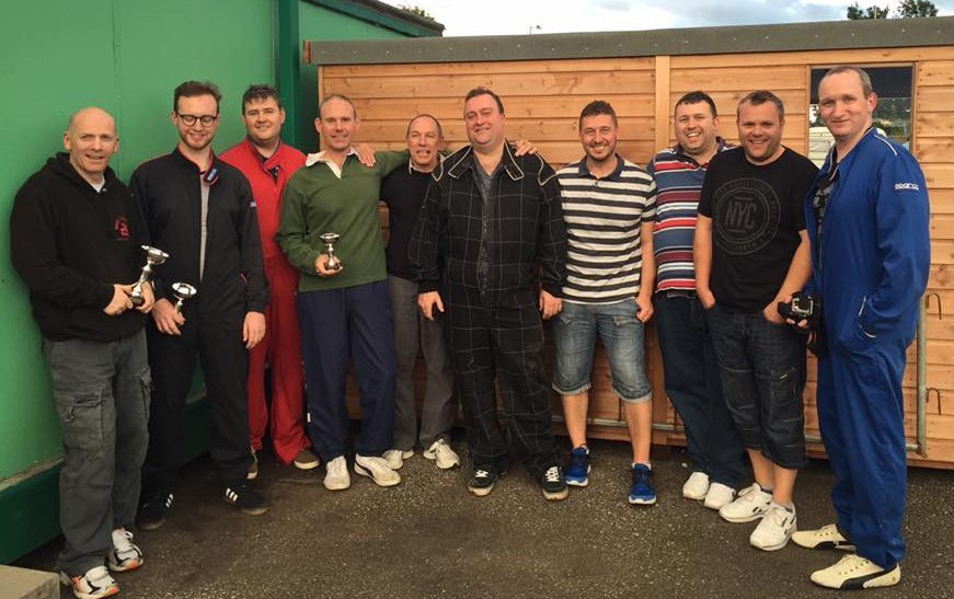BNI Hooton goes karting