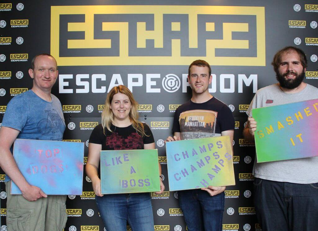 Escape to Victory!: Engage Web Team Building Day 2016