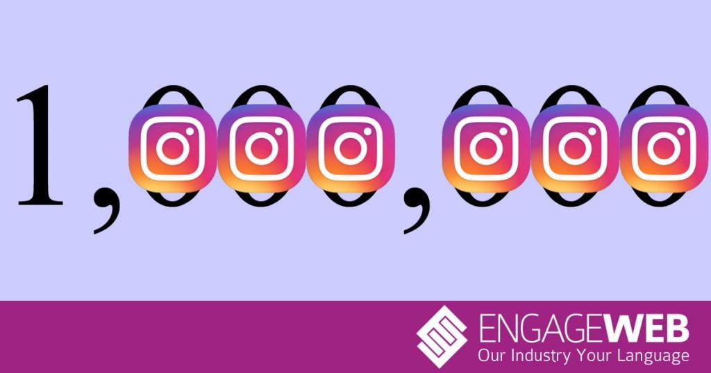 Advertisers on Instagram pass one million