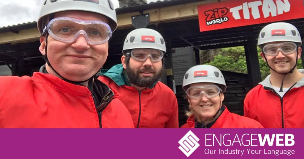 The zips don't lie – Engage Web Team Building Day 2017