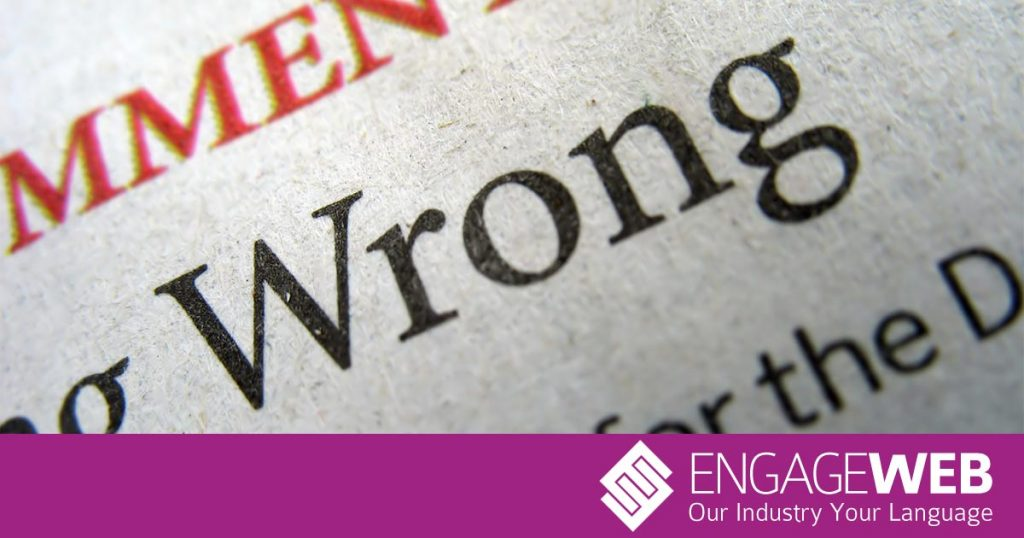 Three mistakes a spellcheck won't help you with