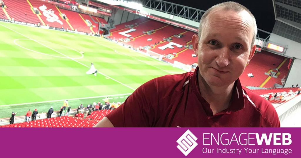 Enjoy matchday hospitality at Anfield with Engage Web